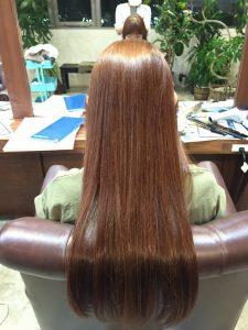 なが〜〜〜っ 髪、長っ‼️
