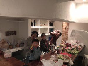 寺田家が来るまで、ご飯の準備!
