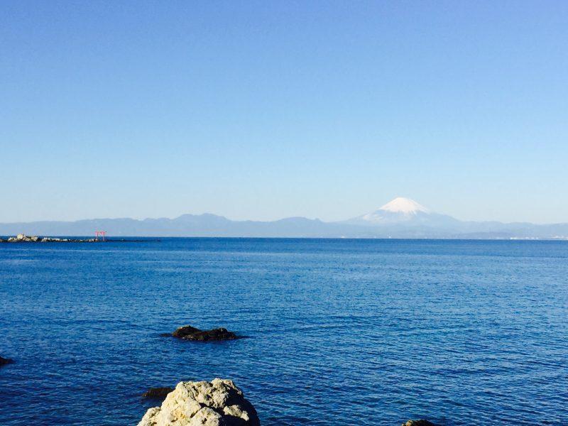 富士山と海!