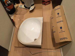 ウォーー!! とうとうTOTOの新しい洗面ボールがお目見えしたよ〜