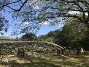 昔の人が、石を積み上げて、作られた場所です(╹◡╹)