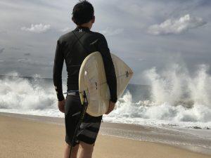 この波、ヤバイです