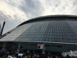昨日の舞台は、東京ドーム