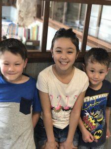 3人とも、いい笑顔😁