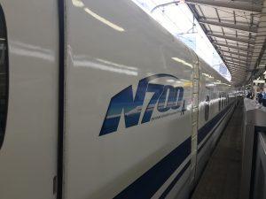 久々の、新幹線🚅