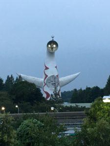 ドリカムの『大阪LOVER』思い出しました(笑) 太陽の塔