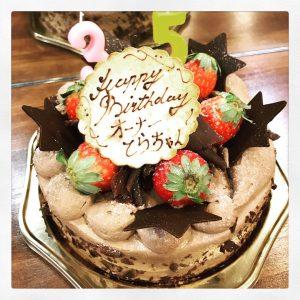 まーさーかーの!!ケーキ!!