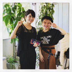 杏と、ツーショット!!!