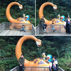 伊藤家と恐竜!!!