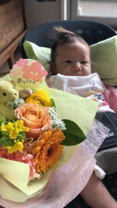 鈴木さんから頂いたお花💐