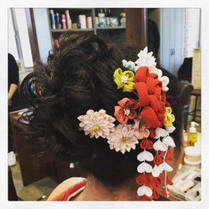 美沙ちゃんのヘアースタイル
