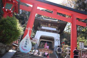江島神社!