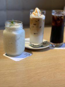 バナナスムージー アイスコーヒー
