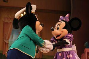 ミッキーとミニー!可愛い❤️